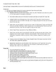 Troy - movie questions - /Movie Worksheet Troy Name 1 List five ...