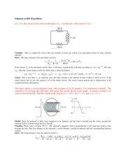 HW 10 - LR and RC Circuits, Inductors