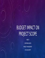 Budget impact on project scope.pptx