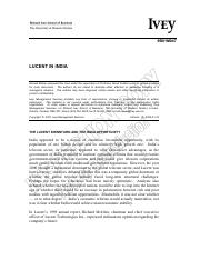 MGT 489-2014-Fall-Case 4-2-3-Lucent in India.pdf