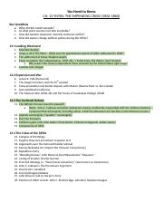 "lies my teacher told me"" essay checklist lies my teacher told  1 pages yntks chapter13theimpendingcrisis"