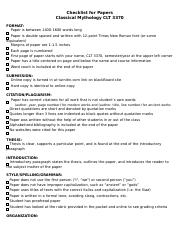 Checklist for Papers(1).doc