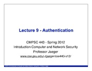 cse443-lecture-9-authentication