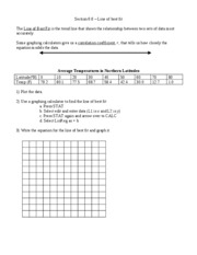 Section 6.6 worksheet