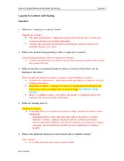 Tutorial 6 Capacity to Contract & Vitiating.docx