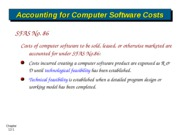 Software developing costs