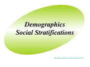 Lecture 7 Demographics