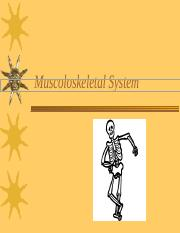 Muscoloskeletal_System.ppt