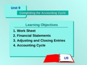 Actbas1 Lesson 10      - Completing the Accounting Cycle