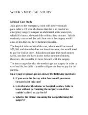 WEEK 5 MEDICAL STUDY WORKING.docx