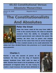 05.02 Constitutional versus Absolute Monarchies.docx
