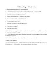 Addictions Chapter 15 Study Guide.docx