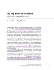 Maira and Shihade - Hip Hop from '48 Palestine.pdf