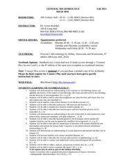 MICRO 3050 Syllabus - Fall 2013