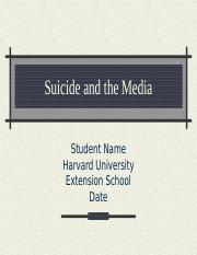 SamplePresentation_Suicide_and_the_Media