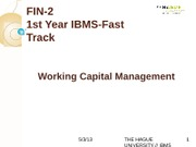 FIN-2Lecture 6-Working_Capital_Management