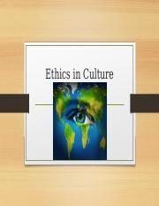 business ethics across cultures