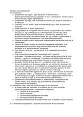 theories des organisations Assignment