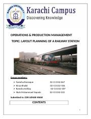 Layout Planning of Railway Station.docx