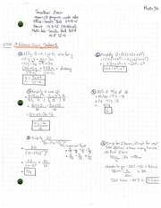 Lecture 1 Notes 1