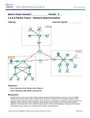 1.2.4.4PacketTracer-RepresentingtheNetworkInstructionsNewport