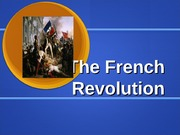 World History Ch. 6 French Revolution & Napoleon