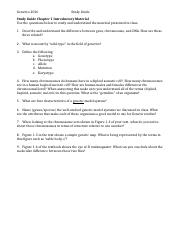 Study Guide Chapter 1 Introductory Material.docx
