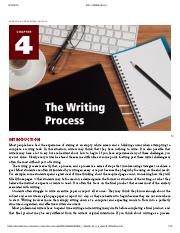 Creating Academic and Career Success - CHAPTER 4_ THE WRITING PROCESS