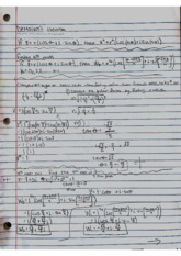 DeMoivre's Theorem and 8.3 notes