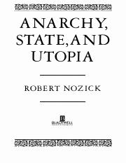 Nozick - Distributive Justice (from Anarchy, State, and Utopia)