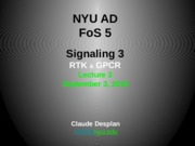 FoS 5 Lecture CD3 Signaling 3 RTK GPCR (1).pptx