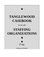 tanglewood case study manager retention Question 2 based on the information gleaned from the various tanglewood case studies case 3: recruiting (human resource class) management case study.