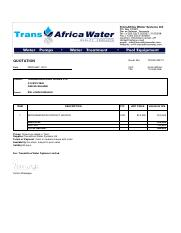 Tanzania Building Works_Quot for the supply of an engine contact heater-signed