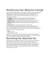 REINFORCING BEHAVIOUR CHANGE.rtf