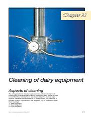 21Cleaningofdairyequipment