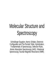 Chapter 1 - Molecular Structure and Spectroscopy.ppt
