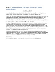 week 6 irac briefs case 1 Short stories (side jobs and brief cases) brief cases signing tour the dresden files is legal.
