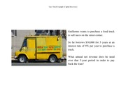 Taco Truck Example (Capital Recovery)