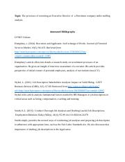 BUSI 443 Annotated Bibliography.docx