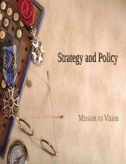 Policy and Strategy - Lecture 4.ppt