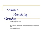 Lecture_6 Visualizing Variables