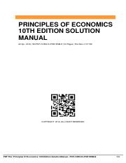 Principles-Of-Economics-10th-Edition-Solution-Manual