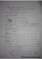 Class notes on numerical integration