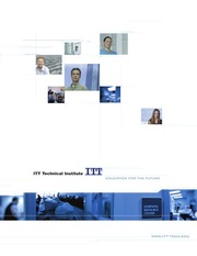 ITT Technical Institue DeSoto TX 2014-2015 Catalog Volume 63