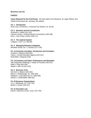BUSS 211 Required Cases Fall 2013 (3)