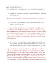 5 pages 0503a modest proposal 1 - Modest Proposal Essay Examples