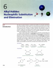 Ch 6 - Alkyl Halides