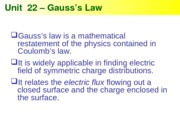 Physics 22 -Gauss's Law (WORKED)