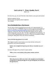 Lab Activity 9 worksheet