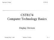 CST8174_Lecture_14_Display_Devices(2)